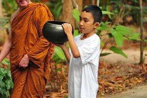 temple thailandais - Village