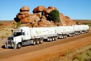 photos road train