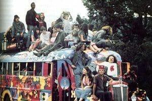 Hippie voyage
