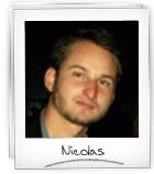 Nicolas volontaire international