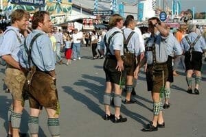 Costume traditionnel Oktoberfest