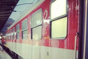 Mon train de nuit Paris Munich