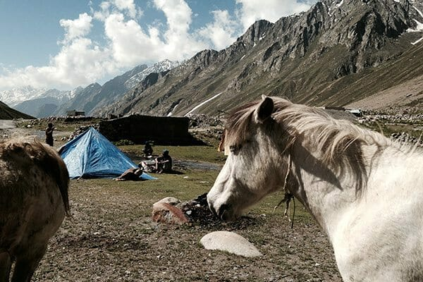 Camping en Himalaya