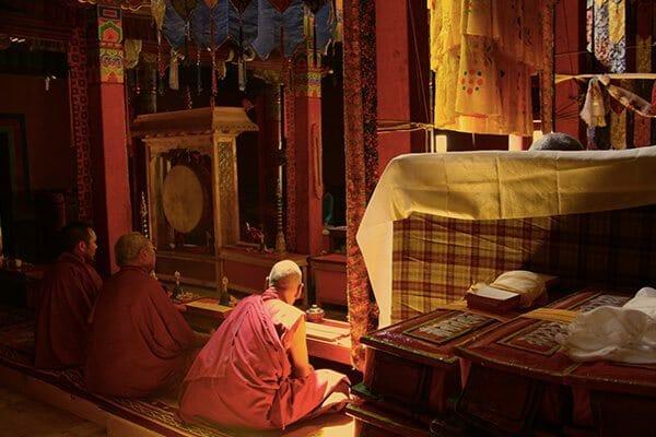 Temple bouddhiste au Laddakh