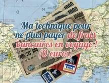Ne plus payer de frais bancaires en voyage avec la banque en ligne