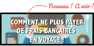 Carte bancaire en voyage
