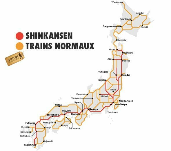 Carte Japan Rail pass