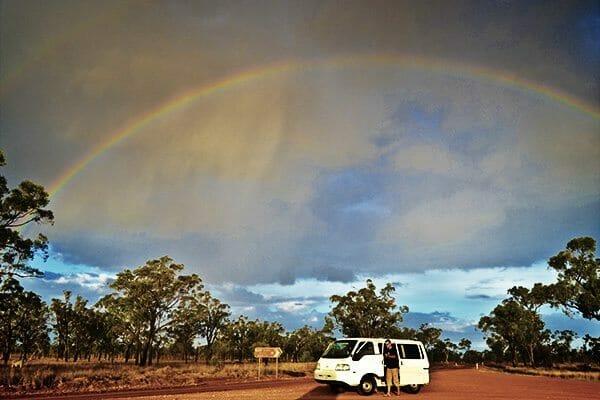 Voyage en famille en australie avec un van