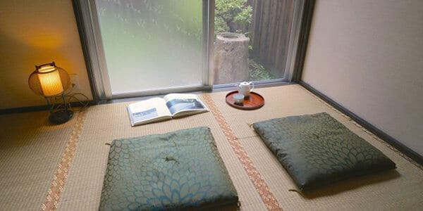 Salon maison Sabi appartement à Tokyo