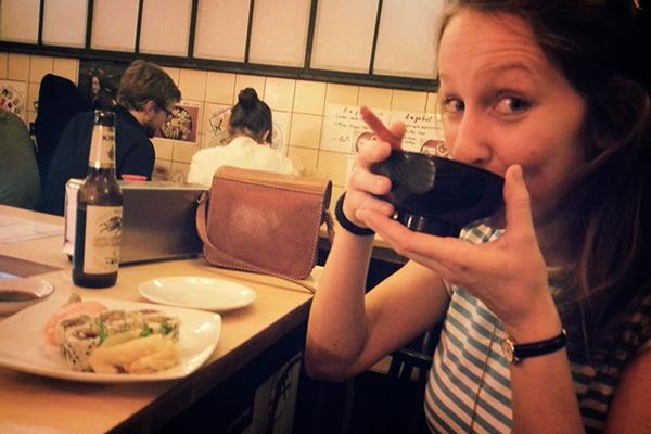 Diner avec Charlotte à Berlin
