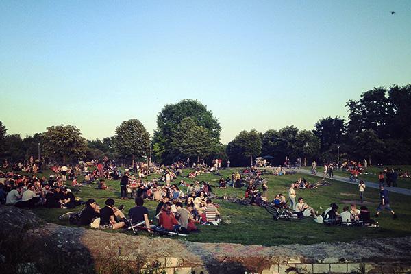 Gorlitzer Park Berlin