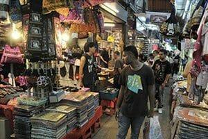 Visiter Bangkok marché
