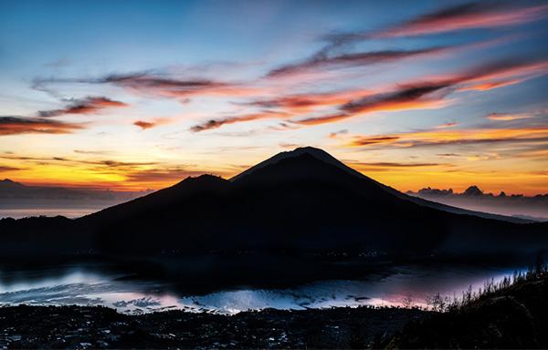 Ascension mont Batur