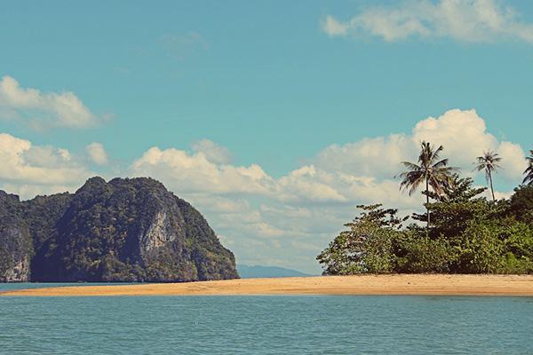 Ile deserte Thailande