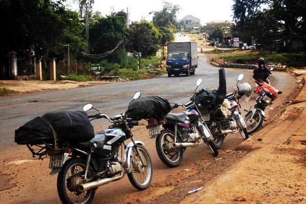 Voyage en moto en groupe au Vietnam