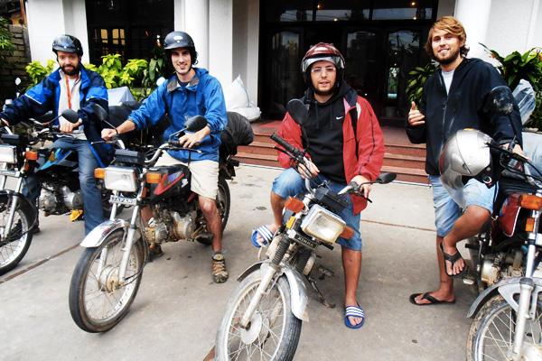 Voyager en moto au Vietnam à plusieurs