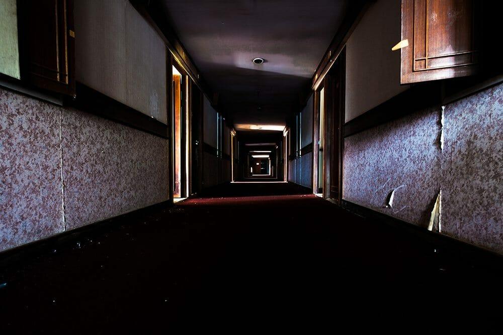 Couloir dans le Boat Chalet