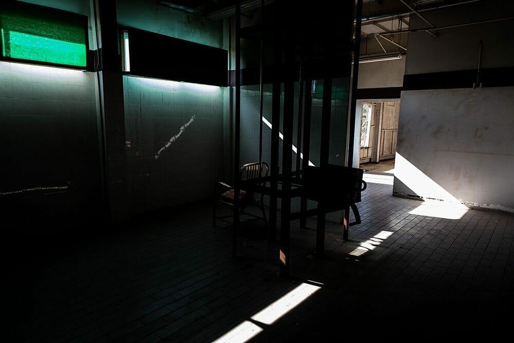 Une salle de torture...