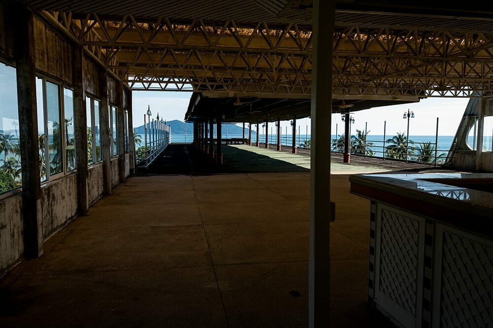 Le toit du Boat Chalet