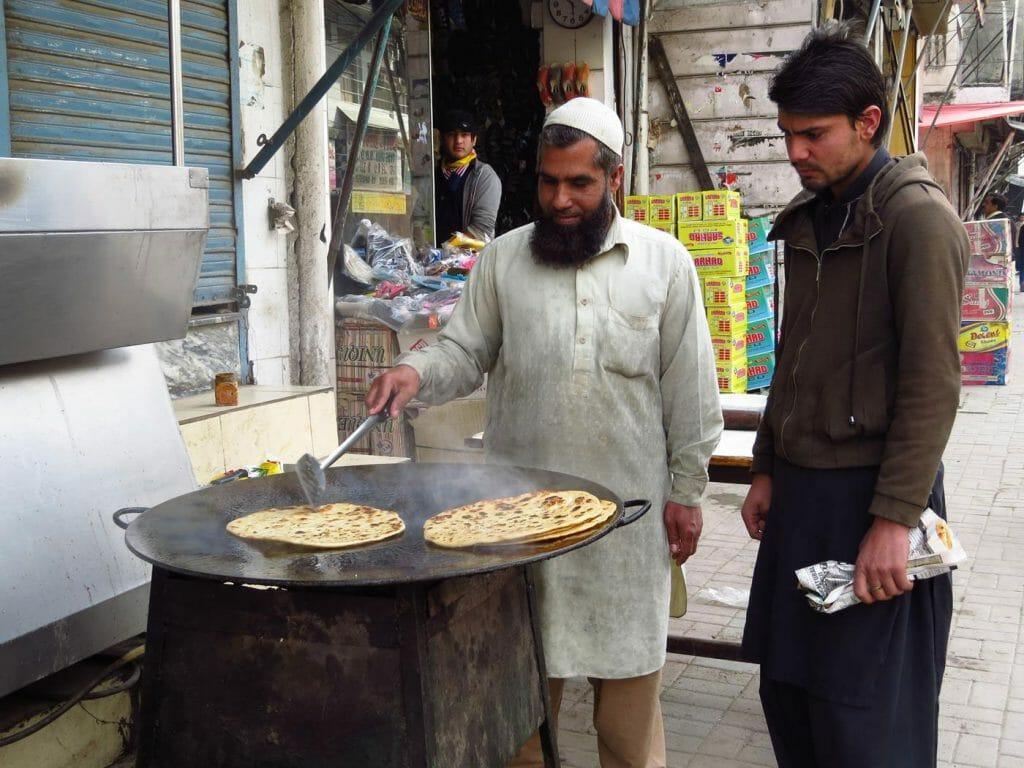 Nourriture traditionnelle Pakistan