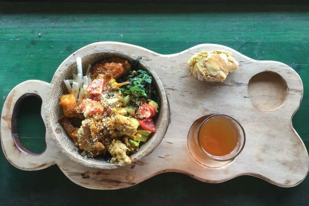 Nourriture Bali Silent Retreat