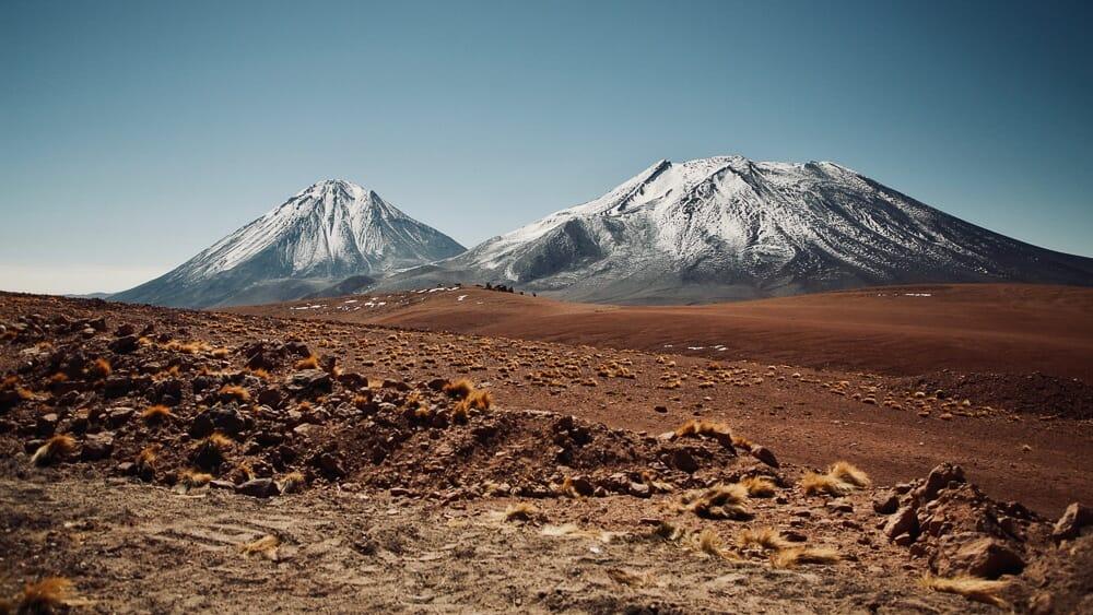 Montagnes en Bolivie